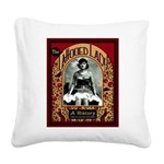 The Tattooed Lady Vintage Advertising Print Square