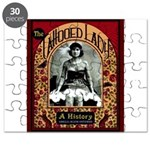 The Tattooed Lady Vintage Advertising Print Puzzle