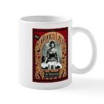 The Tattooed Lady Vintage Advertising Print Mugs