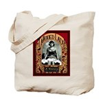 The Tattooed Lady Vintage Advertising Print Tote B