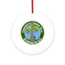 Arbor Day Washington D.C. Ornament (Round)