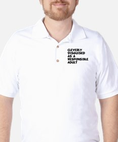 Cleverly Disguised Golf Shirt