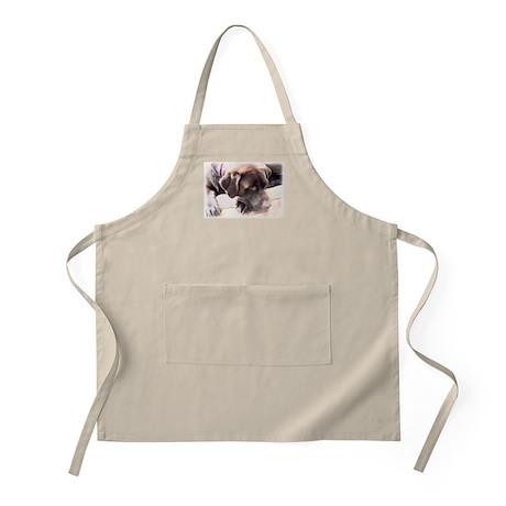 Chocolate Lab BBQ Apron