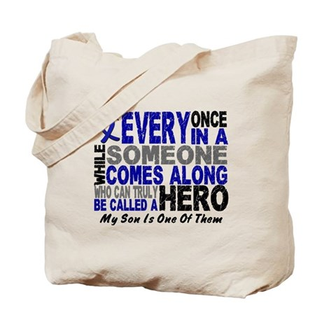 HERO Comes Along 1 Son CC Tote Bag