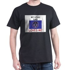 My UTAH DAD Loves Me T-Shirt