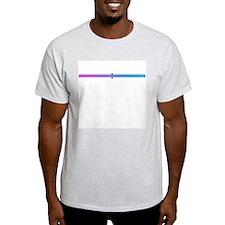 genderqueer mid Ash Grey T-Shirt