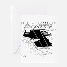 Navy Cartoon 9507 Greeting Card
