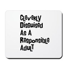 Cleverly Disguised Mousepad