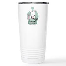 Bad Luck Bunny Travel Mug