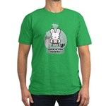 Bad Luck Bunny Men's Fitted T-Shirt (dark)