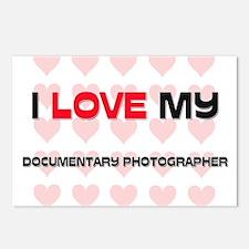 I Love My Documentary Photographer Postcards (Pack