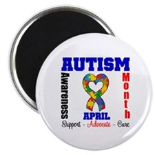 """Autism Awareness Month 2.25"""" Magnet (100 pack)"""