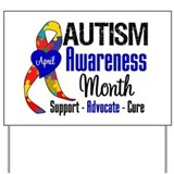 April is autism awareness month Yard Signs