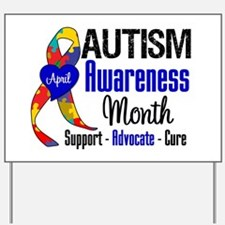Autism Awareness Month Yard Sign
