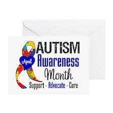 Autism Awareness Month Greeting Card