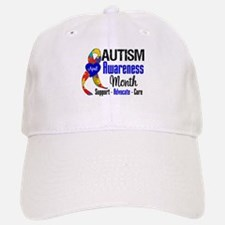 Autism Awareness Month Baseball Baseball Cap