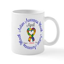 Autism Awareness Ribbon Mug