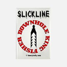 Slickline King Fisher Rectangle Magnet