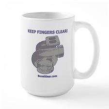 KEEP FINGERS CLEAR - Mug