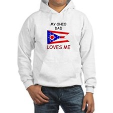 My OHIO DAD Loves Me Hoodie