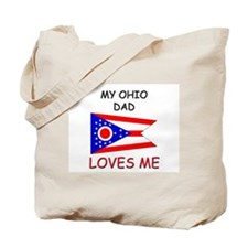 My OHIO DAD Loves Me Tote Bag