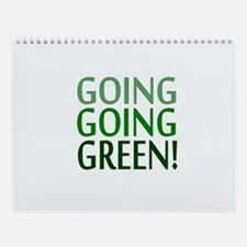 GO GREEN Wall Calendar