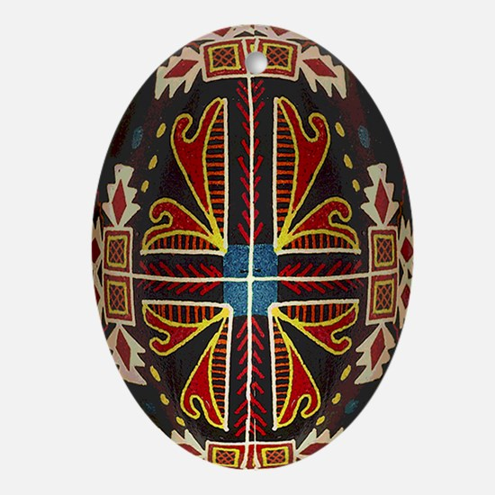 Beautiful Tromp L'oeil Pysanka Easter Egg