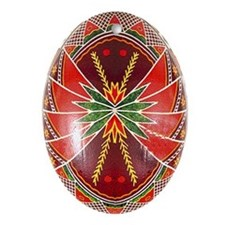Gorgeous Jewel Tone Pysanka Ukraine Egg