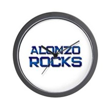 alonzo rocks Wall Clock