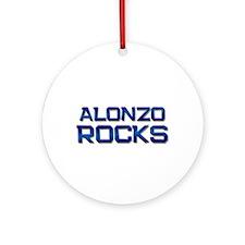 alonzo rocks Ornament (Round)