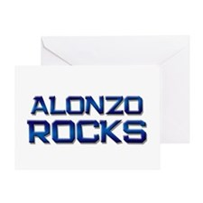 alonzo rocks Greeting Card