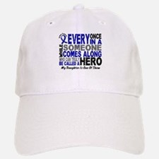 HERO Comes Along 1 Daughter CC Baseball Baseball Cap