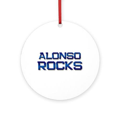 alonso rocks Ornament (Round)
