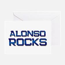 alonso rocks Greeting Card