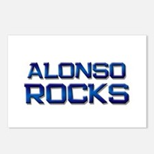 alonso rocks Postcards (Package of 8)