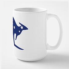 australian flag kangaroo Coffee Mug