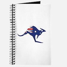 australian flag kangaroo Journal