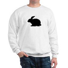 black rabbit icon Sweatshirt