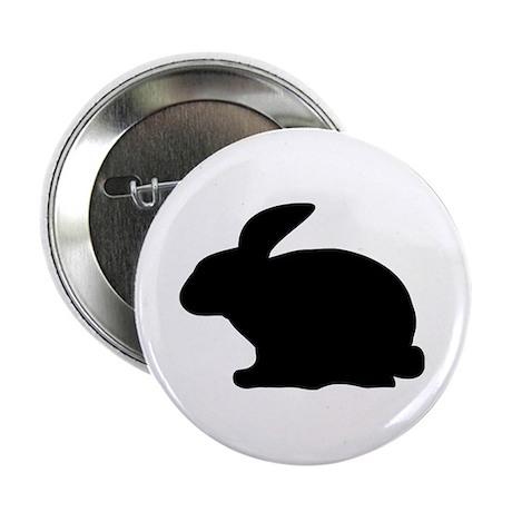 "black rabbit icon 2.25"" Button"