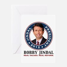 Bobby Jindal President 2012 Greeting Card