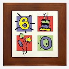 Color Block 60 Framed Tile