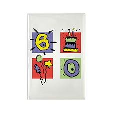 Color Block 60 Rectangle Magnet