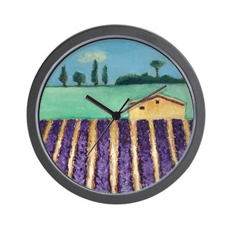 """""""French Lavender"""" Wall Clock"""