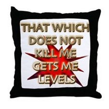 Get Me Levels Throw Pillow