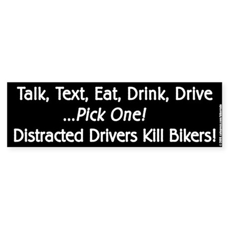 Distracted Driver (Bumper)