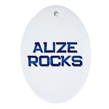 alize rocks Oval Ornament