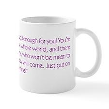 He's not good enough for you Mug