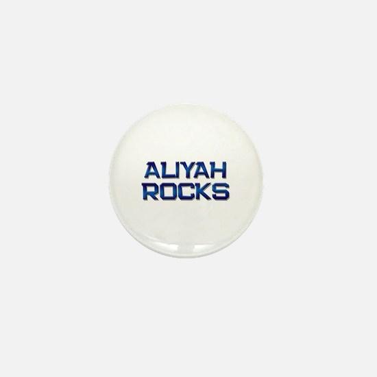 aliyah rocks Mini Button