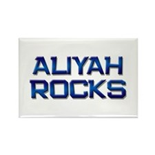 aliyah rocks Rectangle Magnet