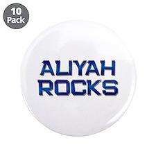 """aliyah rocks 3.5"""" Button (10 pack)"""
